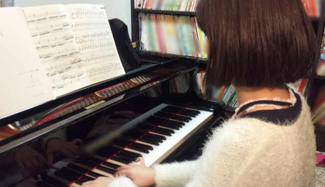 北海道札幌市月寒東のしまづピアノソルフェージュ教室大人のピアノレッスン